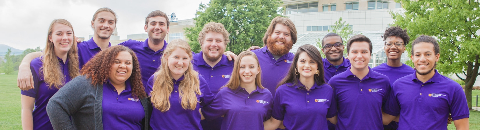 Photo of Conference Assistants staff.