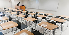Image of west campus classroom