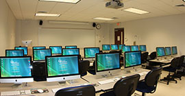 Image of a computer lab