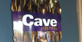Festival Cave sign