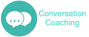 chat icon with words conversation coaching