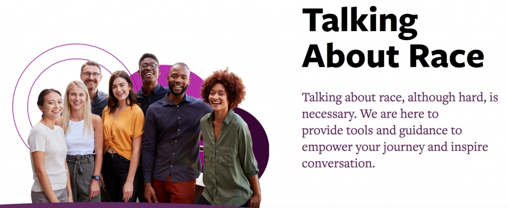 image of talking about race