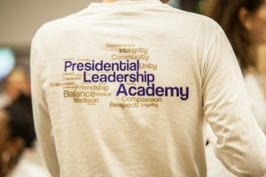 Learn How to Take Charge with JMU's Presidential Leadership Academy