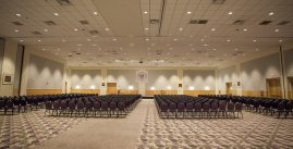 image of The festival ballroom set up for the event