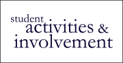 Logo of Student Activities & Involvement