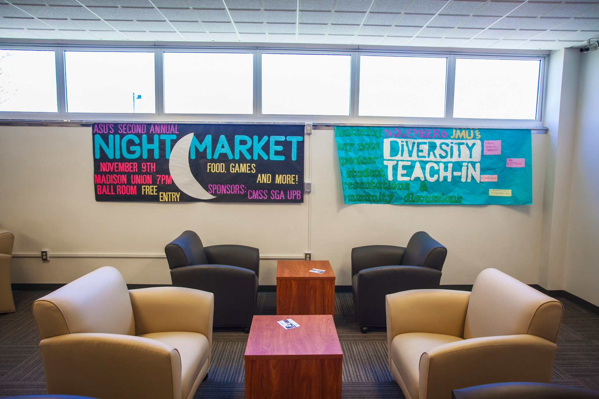 Image of Advertising Banners in Madison Union