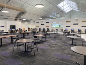 Image of the inside if the Hub