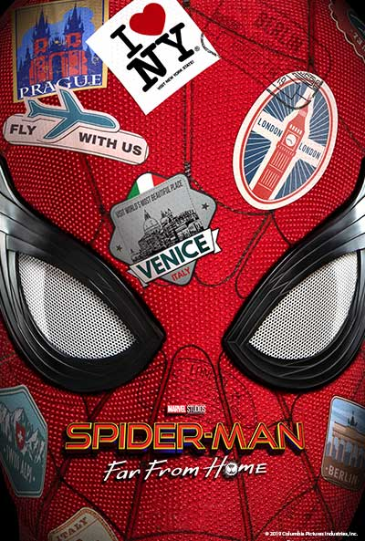 Spider-Man Far From Home Movie Poster