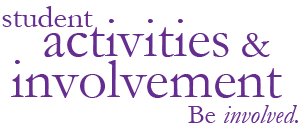 Student Activities and Involvement's secondary logo